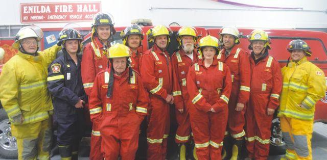 Enilda Fire Department enjoys quiet year