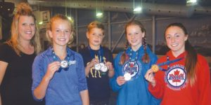 Dolphins race to 5 medals at provincials