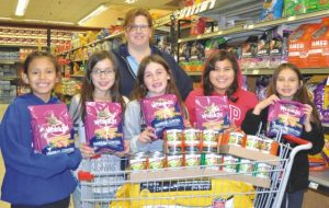PICs – Girl Guides helping pets in need