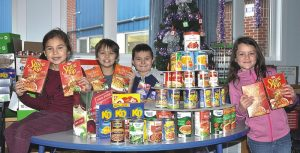 Hamper drive ensures 'Merry Christmas' for many