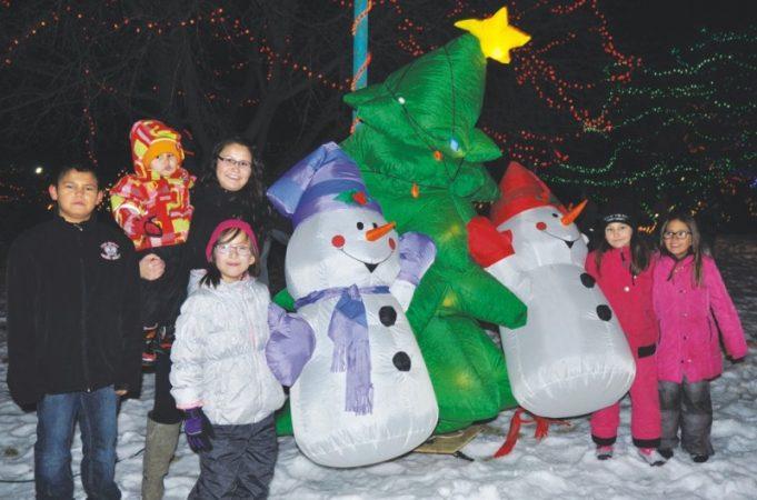 Christmas lights display shines during annual Light-Up