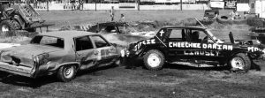 Triangle demo derby on shaky ground