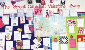 HPE students enjoy Great Canadian Valentine Swap