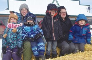 PICs – Hay rides and sledding highlight family fun at Triangle
