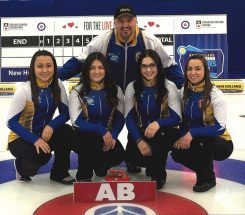 Alberta junior curling places fourth at nationals in Quebec