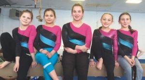 Gymnasts enjoy medal haul at Fairview Flip 'n' Fun