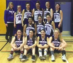 Lady Chargers win bronze