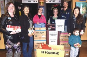 ATB, concert help fill food bank's shelves