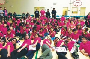 Joussard students rally against bullying