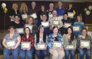 Area honours its volunteers