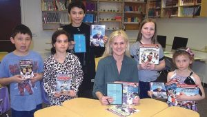 PIC – HPE welcomes children's author