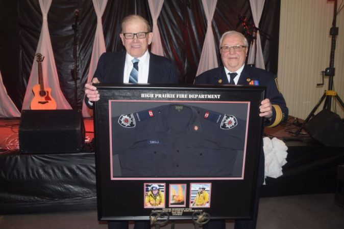 Belli honoured for 39 years of service