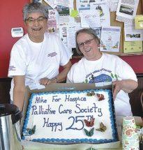 PICs – Hospice Walk tops $9,000