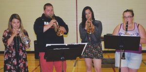 PICs – School, community bands perform for public