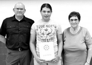Okimaw honoured by Holy Family