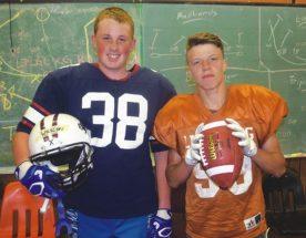 2 Outlaws make Summer Games football team