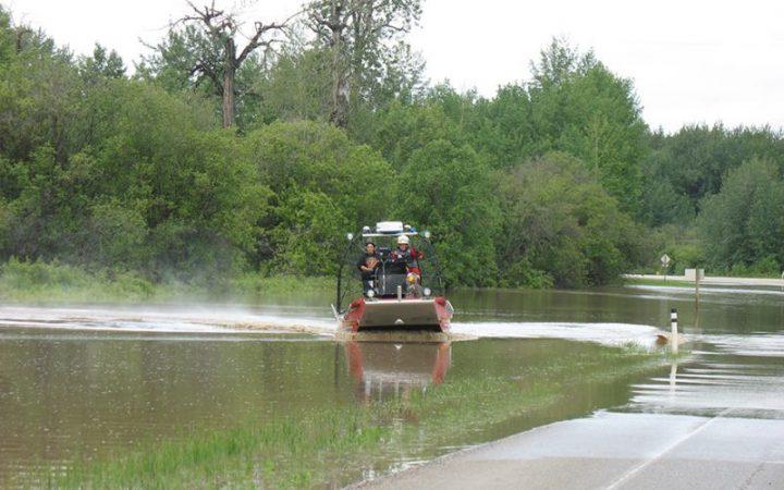 Flooding causes havoc in Lesser Slave region