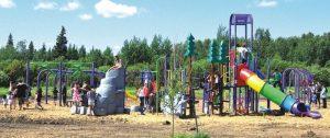 Play Park opens in Atikameg