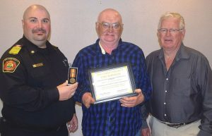 PIC – Bissell honoured for long service