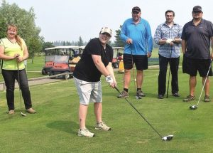 Charity golf tournament supports health