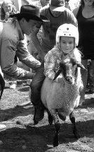 PIC – Ride 'em, cowboy!