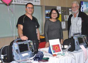 Fair showcases life-saving equipment