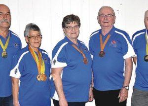 Seniors enjoy medal haul