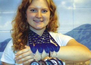 Troster caps 5 medals at Provincials