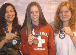 Dolphins capture 7 medals at Provincials