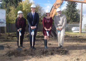 PIC – College breaks ground for new High Prairie campus