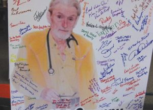 Letter – Doctor 'humbled' by tribute