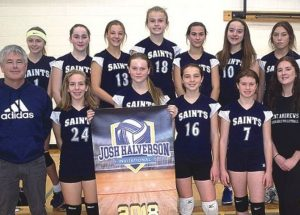 Saints rule in Halverson tournament