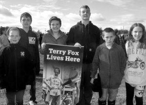 Students support Terry Fox en masse