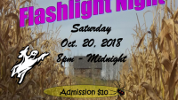 Flashlight Night Spookiness this Saturday evening