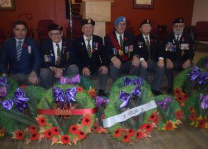 High Prairie salutes service in war