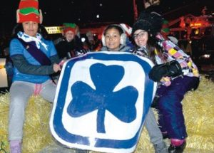 Spirit shines at Santa Claus Parade