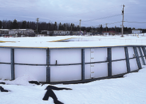 Outdoor rink back on thin ice