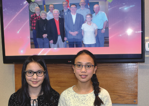 Grade 6 students thank councils for service