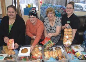 Santa's Little Helpers distribute 39 Christmas hampers