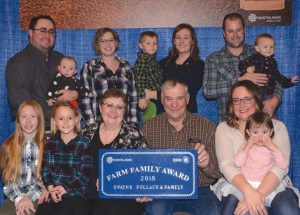 Pollack family receives Farm Family Award