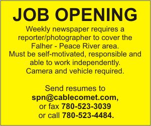 SRE Reporter job ad