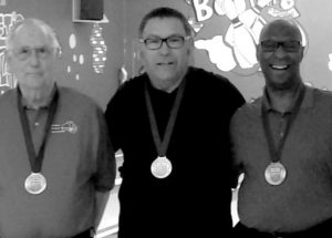 PIC – Cunningham wins silver medal