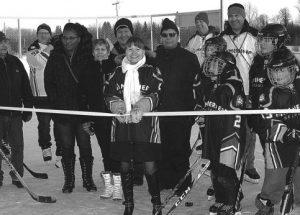 PIC – Sucker Creek opens outdoor rink