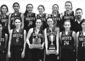 Saints win back-to-back hoops titles