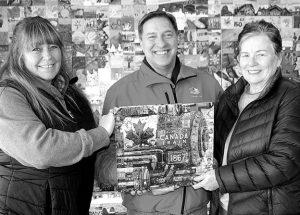 Mural book puts HP on special map