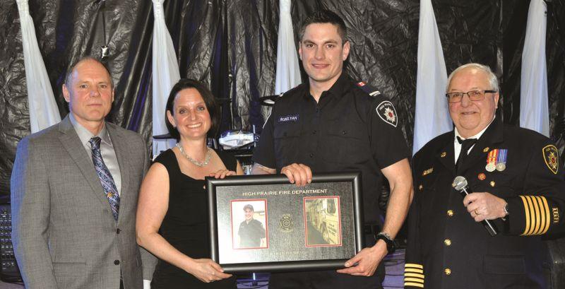 Belyan voted Firefighter-of-theYear