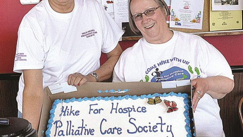 Hospice Walk named in memory of Chalifoux