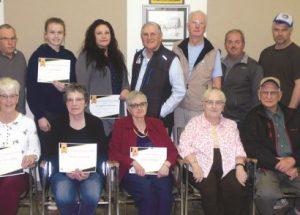 Joussard volunteers recognized