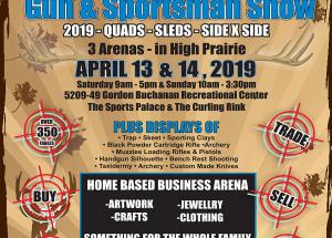 Gun & Sportsman Show April 13-14