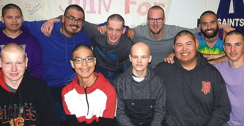 Saints rally for cancer victim